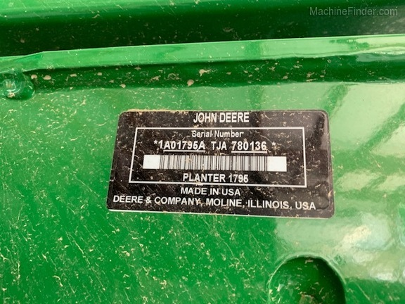 Photo of 2019 John Deere 1795
