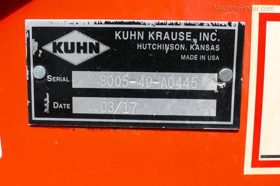 2017 Kuhn 8005-40-32