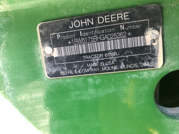 Photo of 2016 John Deere 6175R