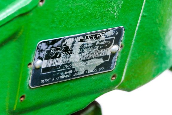 2012 John Deere 7200R-30