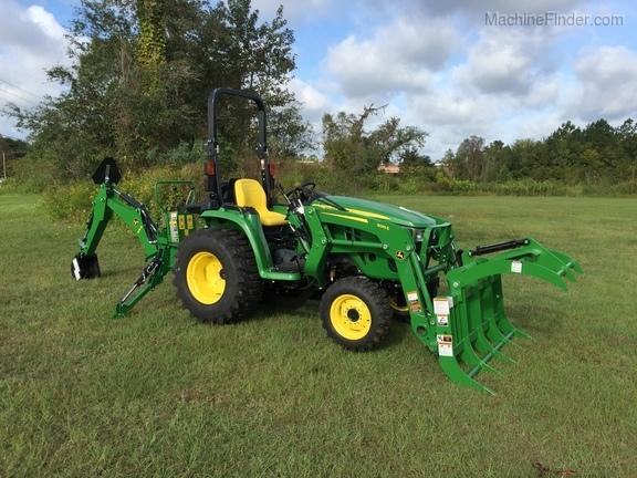 2018 John Deere 3025E TLB WITH GRAPPLE - Compact Utility Tractors - John  Deere MachineFinder