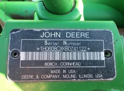 John Deere 608C