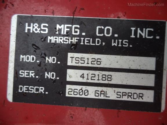 H S 5126 Top Shot Manure Spreaders Decorah Ia