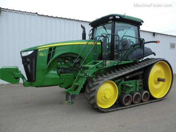 Cal Coast Machinery John Deere 8360rt 2012