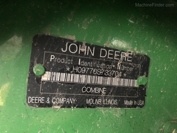 Photo of 2009 John Deere 9770 STS