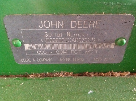 Photo of 2011 John Deere 630