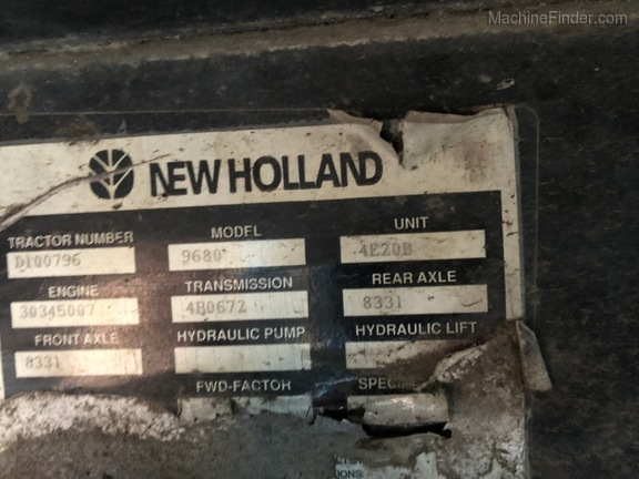 1994 New Holland 9680 Image 10