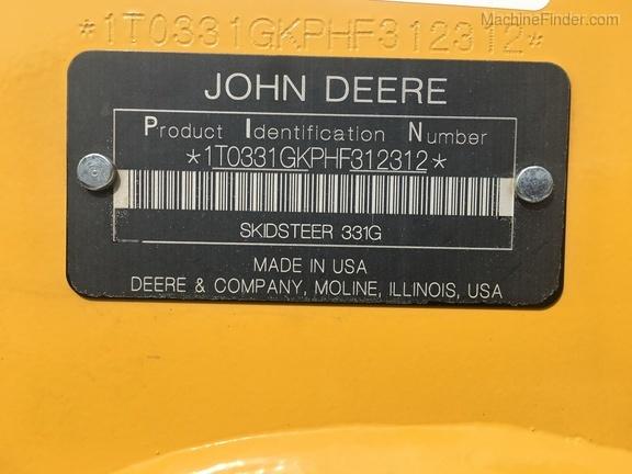 Photo of 2017 John Deere 331G