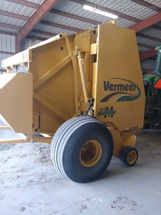 2009 Vermeer 605SM - Round Balers - Smith Center, KS