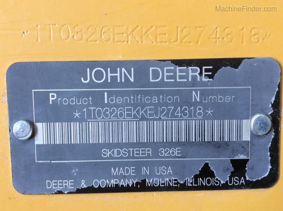 Photo of 2015 John Deere 326E