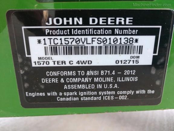 2015 John Deere 1570-5