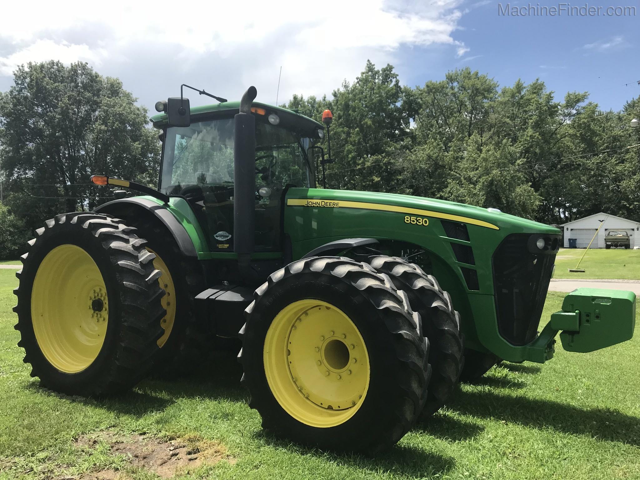 2007 John Deere 8530 Row Crop Tractors John Deere Machinefinder