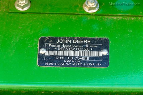 2018 John Deere S780-32