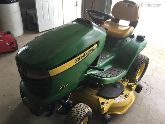2012 John Deere X324 - Lawn & Garden Tractors - Tyler, MN