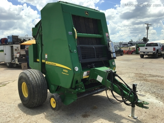 2015 John Deere 469 Silage Special Image 4
