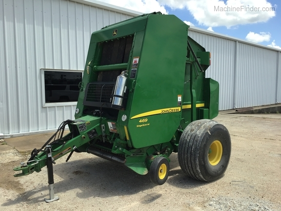 2015 John Deere 469 Silage Special Image 6
