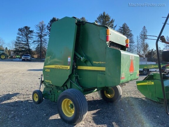 2012 John Deere 458 Silage Special Image 2