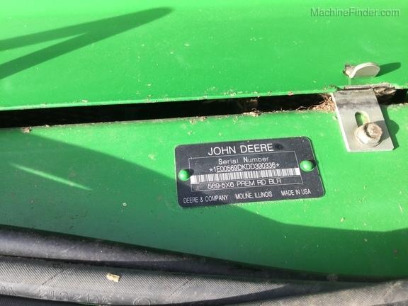 2013 John Deere 569 Prem