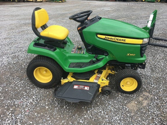 Photo of 2010 John Deere X360