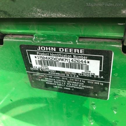 2019 John Deere TX 4X2-4